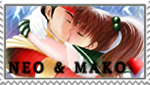 Neo x Mako stamp (gift) by Kassandra-21