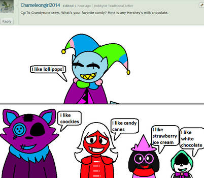 Ask  The Candyrune crew -Question 8 by Inkythepuppet