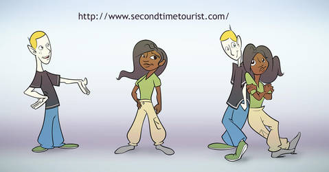 Second Time Tourist by RabidSquirrelNinja