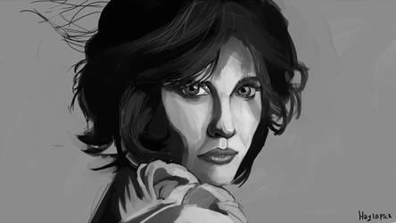 portrait practice by Haylapick