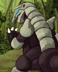 Aggron by Haylapick