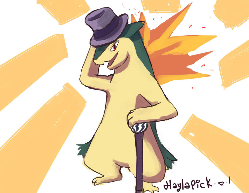 typhlosion by Haylapick