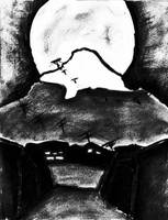 Full Moon by TheatreAyoo
