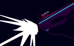 Railgun (double resolution) by TheatreAyoo