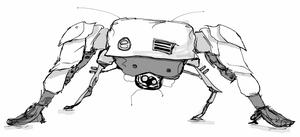 Spider Bot by TheatreAyoo