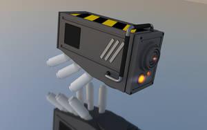Drone Head 1-1 by TheatreAyoo