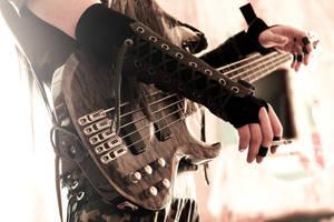Bass Guitar by kefirux