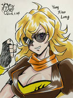 [RWBY] Yang Xiao Long 2 by Gengoro-Akemori