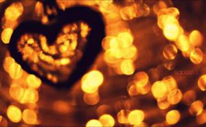 Bokeh heart 2 by Zwoing