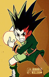 Gon Freecss by jam1220