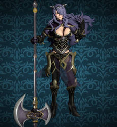 Camilla (Fire Emblem Warriors) for XNALARA XPS by Ambros489