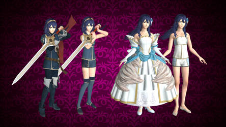 Lucina (including Bride Models) for XNALARA XPS by Ambros489