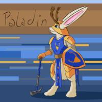 Paladin Bunny by LastExitAhead