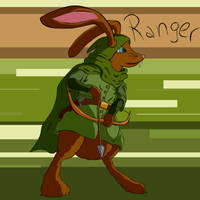 Ranger Bunny by LastExitAhead