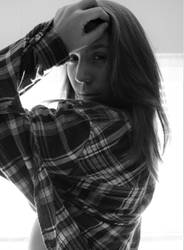 Girl in lumberjacket by Ringtailmaki