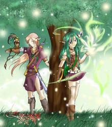Elfes des forets by AoiShinju
