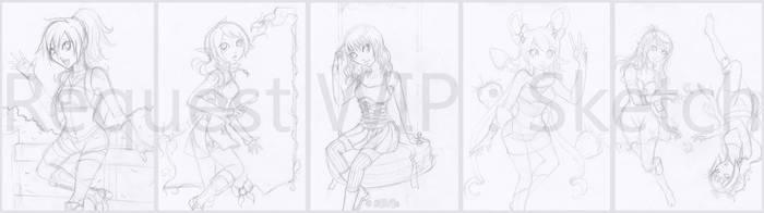Request Sketch by AoiShinju
