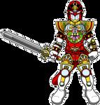 Gunmetalblack's Stained Glass Knight by Bastard-Bird