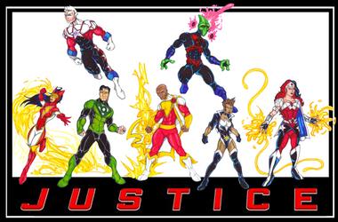 FrischDVH's DC Revolt Justice League by Bastard-Bird