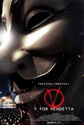 V for VENDETTA Teaser D by sahinduezguen