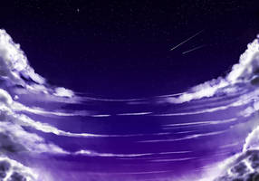 Sky study 1 by breeozoa