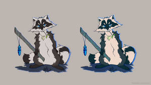 OSCAR (Character reference sheet) by breeozoa
