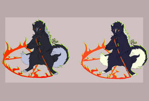 DEVIN (Character reference sheet) by breeozoa