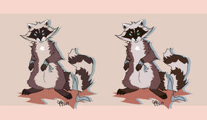 ROSS (Character reference sheet) by breeozoa