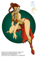 Slave Leia by Stalk - Colors by SRSobotka