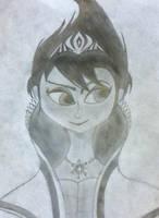 Evil Elsa by DragonTreble