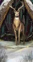 Deer by Noctualis