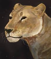 Lion Doodle/WIP by Noctualis