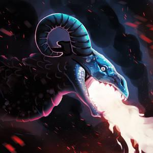 Drawtober 18 - The Devil's Minion by Noctualis