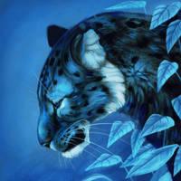 Blue Jaguar by Noctualis