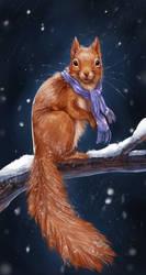 Squirrel by Noctualis