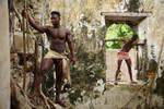 Avrae et Che en prison by sunboys
