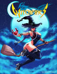 Witch Maya by DarkerEve
