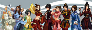 Women of Avatar by DarkerEve