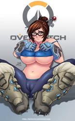 Overwatch Mei by DarkerEve
