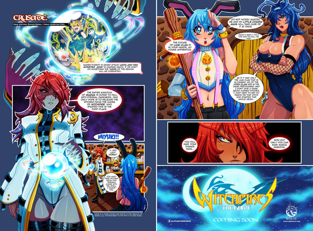 Witchpires Crusade  by DarkerEve