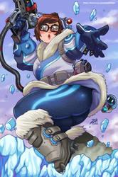 Ice Girl Cometh by DarkerEve