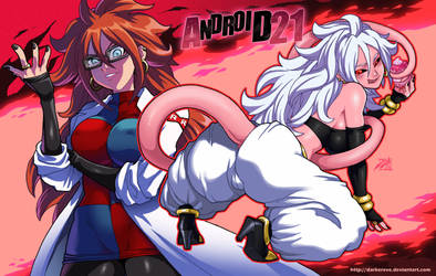 Android 21 by DarkerEve
