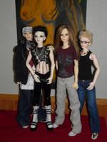 ToHo .:II:. Tokio Hotel BJDs by idrilkeps