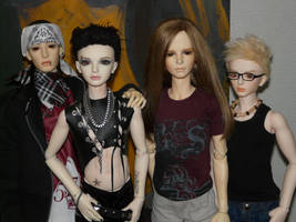 ToHo .:III:. Tokio Hotel BJDs by idrilkeps