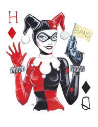 Harley Card by BerryLuna