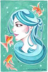 Water Maiden by BerryLuna