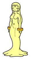 Female Slime Healer by KingMonster