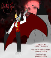 Sly Cooper Fan-Character Collab: Baron von Dracul by WebWalker756