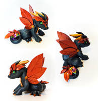 Elemental Earth Dragon: Autumn design by Shemychan