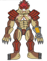 Buff wrex in armor by elfkiller01